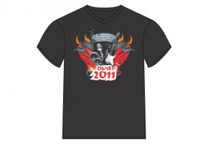 A.I.M.F T-Shirt - Digital Heat Transfer