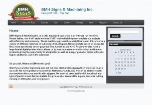 BMH Signs