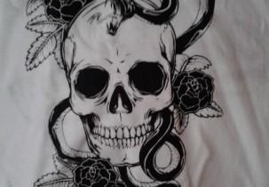 David Downey Screen Printing Shirt Back Design